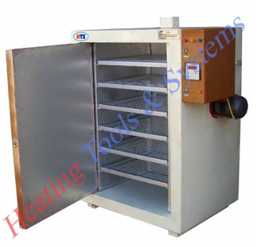 shelf oven with hot air system